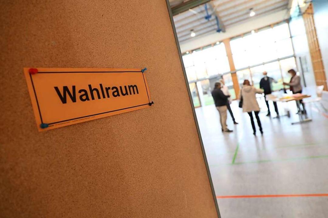 Am Sonntag wurde in Neuried gewählt.    Foto: Christoph Breithaupt