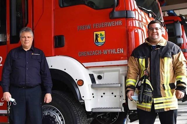 Die Feuerwehr Grenzach-Wyhlen braucht neue Mitglieder