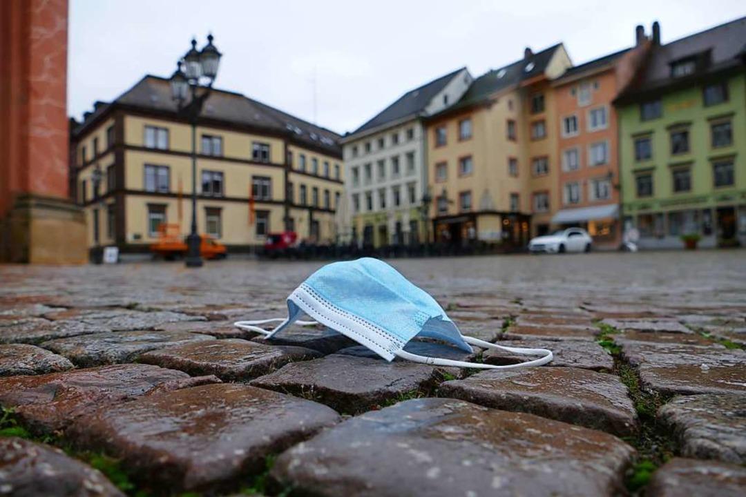 Corona hat Bad Säckingen fest im Griff.  | Foto: Stefan Mertlik