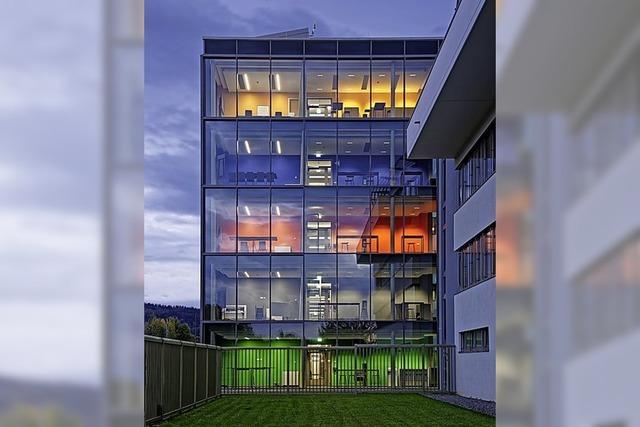 Platin-Preis für Badenova-Bau