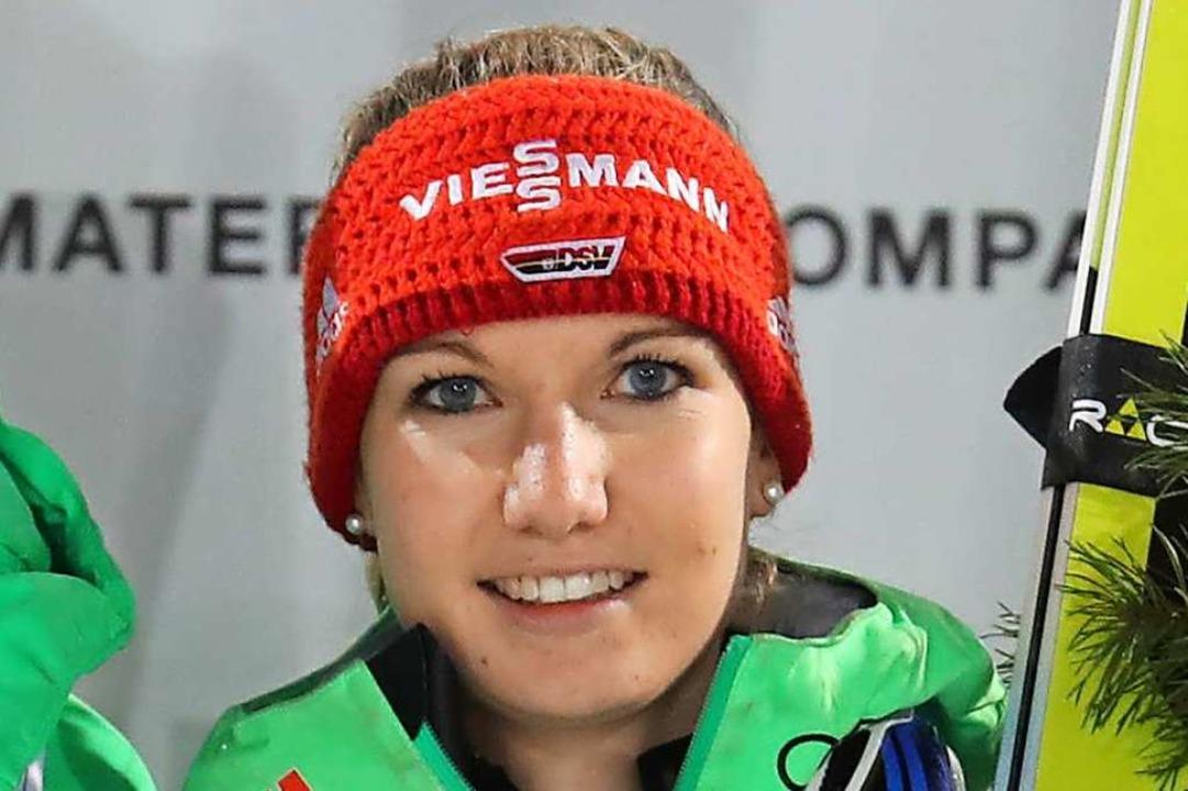 Die Schwarzwälderin Svenja Würth gesta...n der Nordischen Kombination antreten.  | Foto: Karl-Josef Hildenbrand