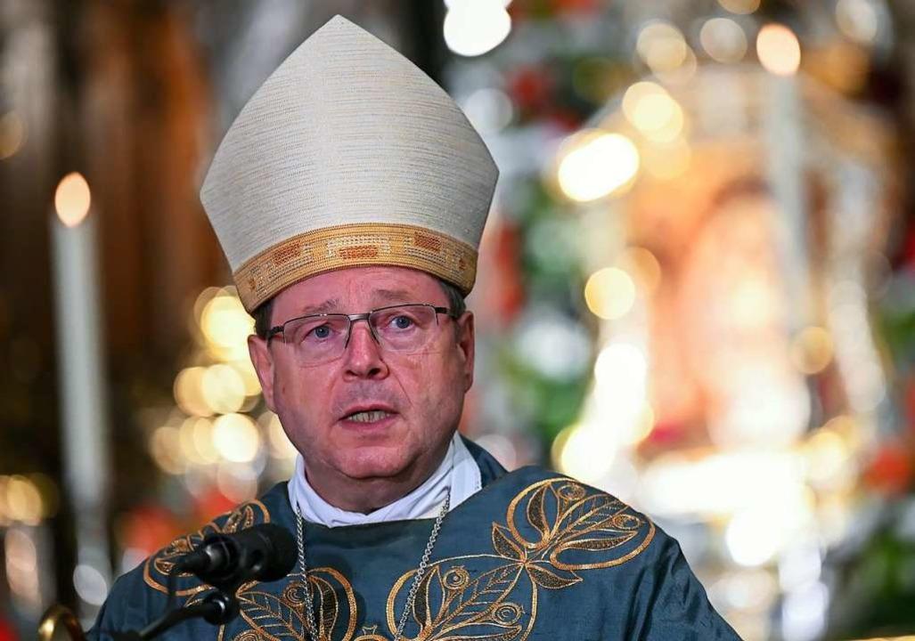 Die Deutsche Bischofskonferenz unter d...tale – Frühjahrsvollversammlung.  | Foto: Arne Dedert (dpa)