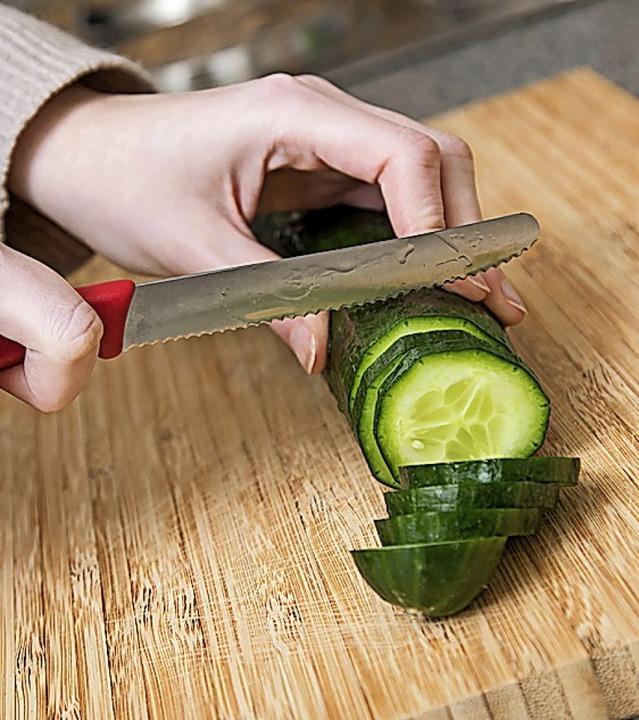 Täglicher Küchenhelfer: das Brett.  | Foto: Christin Klose (dpa)