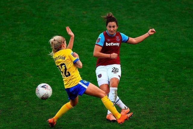 Laura Vetterlein aus Rheinfelden hat sich als Fußballprofi in England etabliert