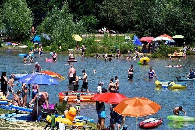 Sieben Freiburger Seen sollen Badegewässer bleiben
