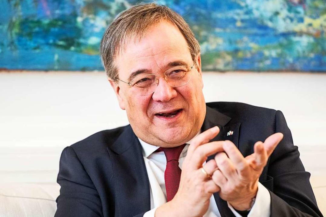 Armin Laschet ist seit 22. Januar 2021 Vorsitzender der CDU.    Foto: Caroline Seidel (dpa)