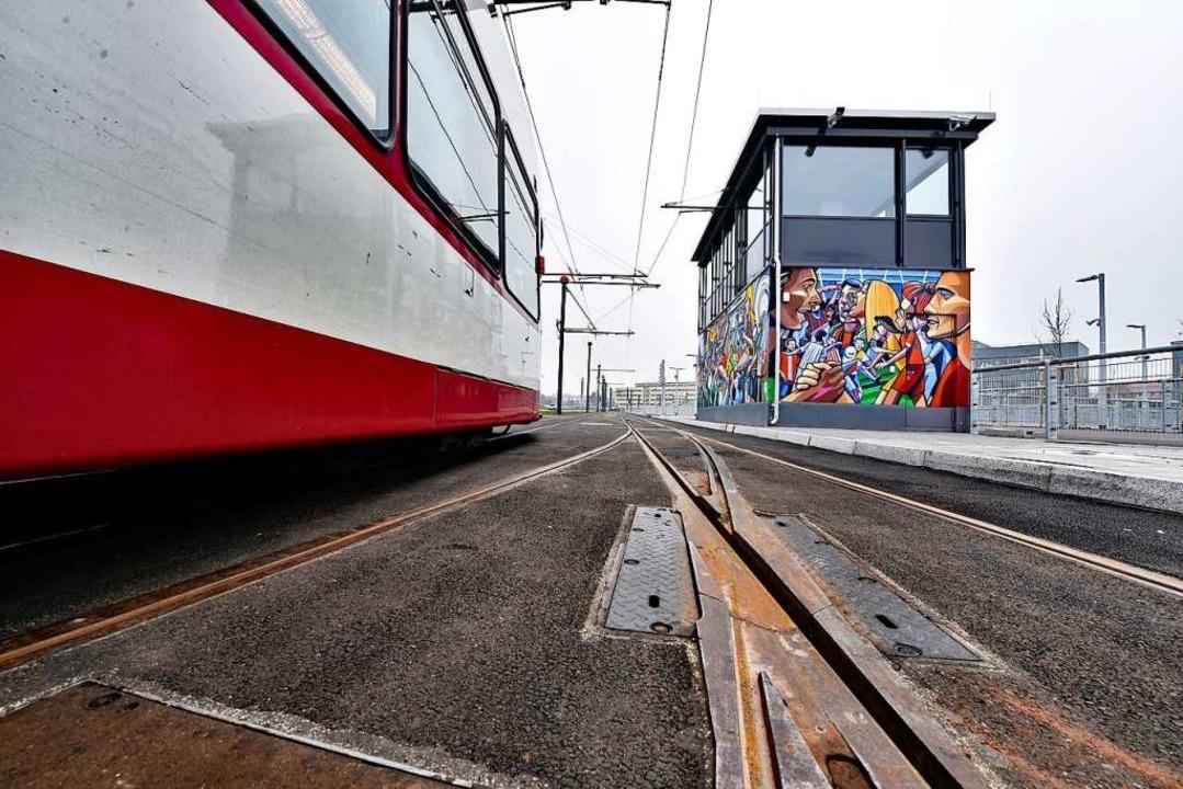 Die Stadtbahn kommt, und das kostet Ge...llschaften insgesamt ins Minus fahren.  | Foto: Thomas Kunz