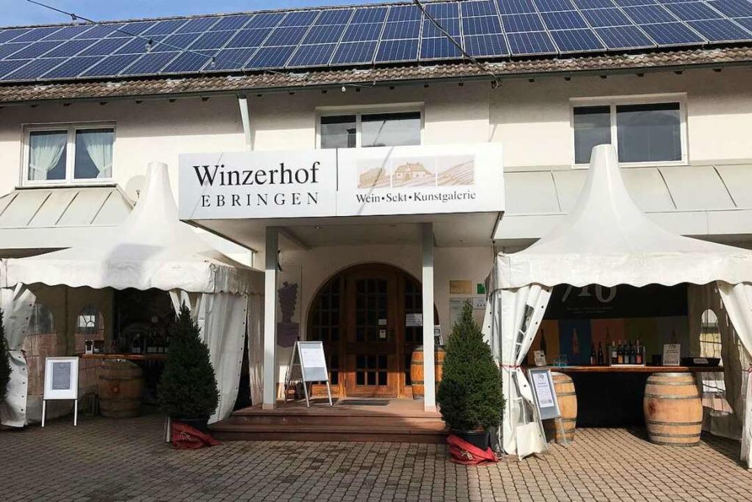 Recht eng geht es zu am derzeitigen Standort des Winzerhofs in Ebringen.    Foto: Michael Dörfler