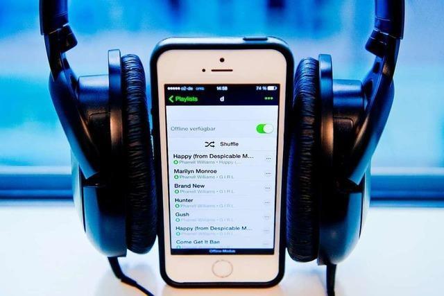 Streaming bewahrt Musikindustrie in der Pandemie vor Absturz