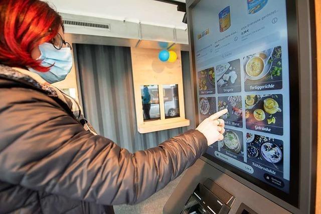 Roboter im Einsatz: Mini-Supermarkt kommt ohne Personal aus