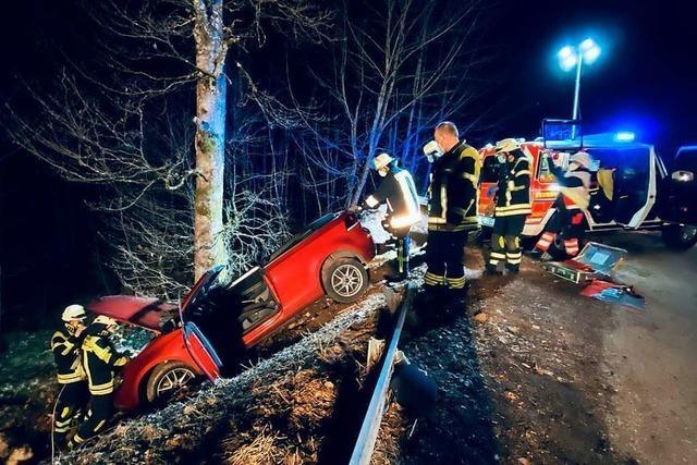Zwei Verletzte nach Unfall am Hochblauen