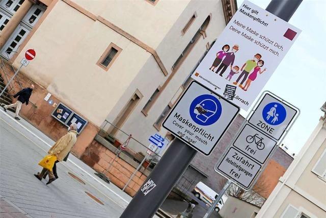 Die Stadt Lörrach will dem Handel mit strengeren Regeln helfen