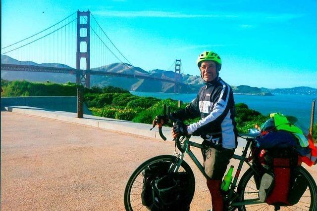 Wie ein Heitersheimer mit dem Fahrrad um die ganze Welt fuhr – sieben Mal