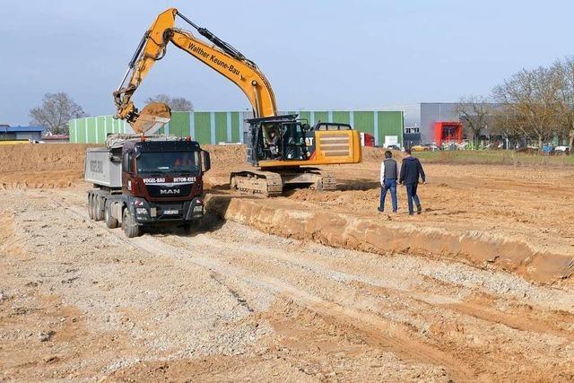 Rückgrat-Gruppe lässt in Breisacher Gewerbegebiet bauen