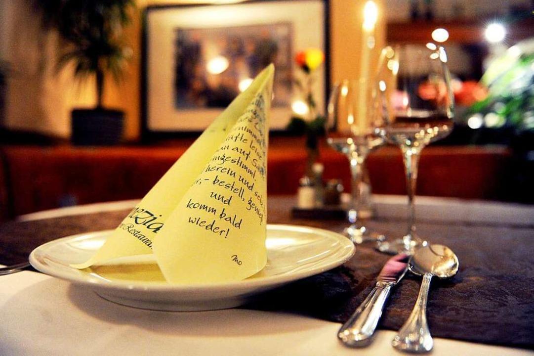 Die Restaurants bleiben  weiterhin ges...treiber sind deshalb kreativ geworden.  | Foto: Daniel Reinhardt