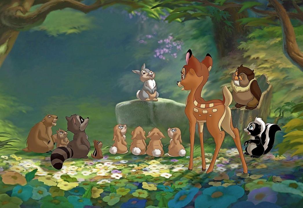 "Audiovisuelles Antidepressivum für die ganze Familie: ""Bambi""  | Foto: imago stock&people"