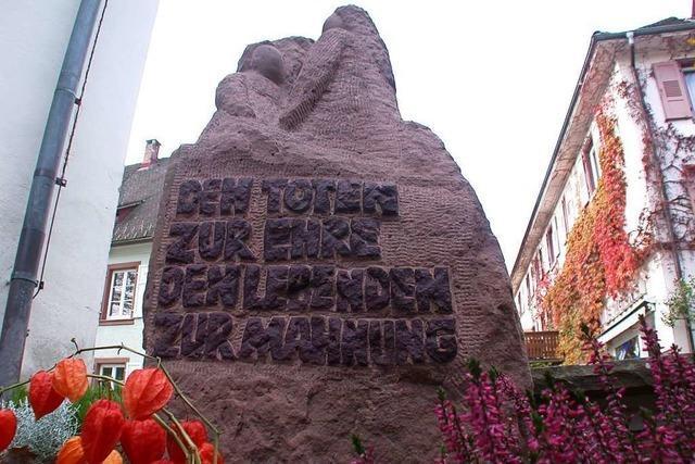 In Schopfheim können Stolpersteine zum Gedenken verlegt werden