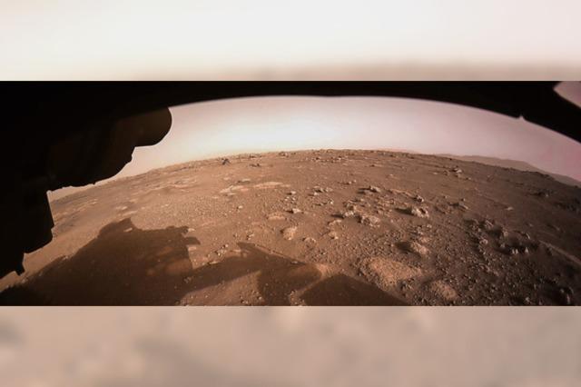 So hört sich der Mars an
