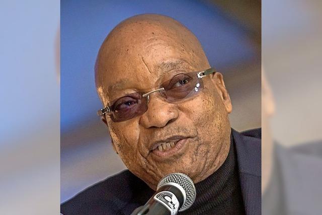 Zuma sieht sich als Opfer einer