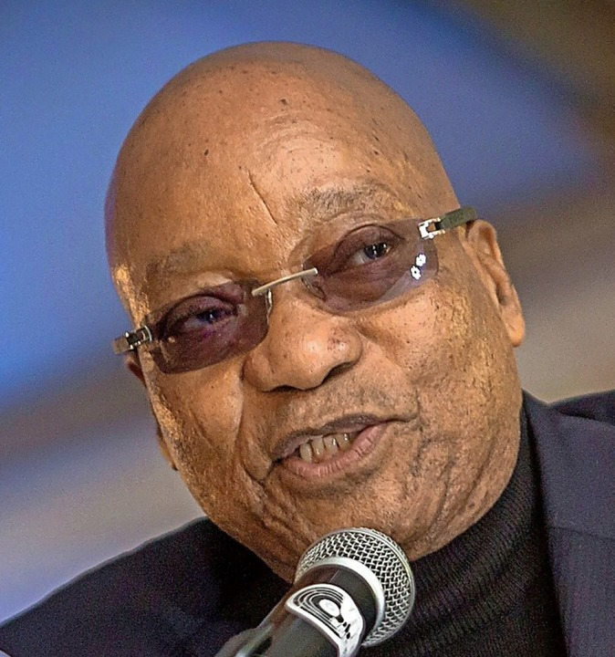 War 2009 bis 2018 Staatschef: Jacob Zuma      Foto: RAJESH JANTILAL