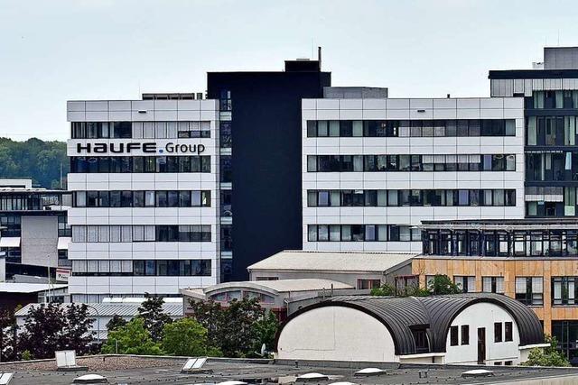 Haufe erweitert Standort in Freiburg mit Neubau