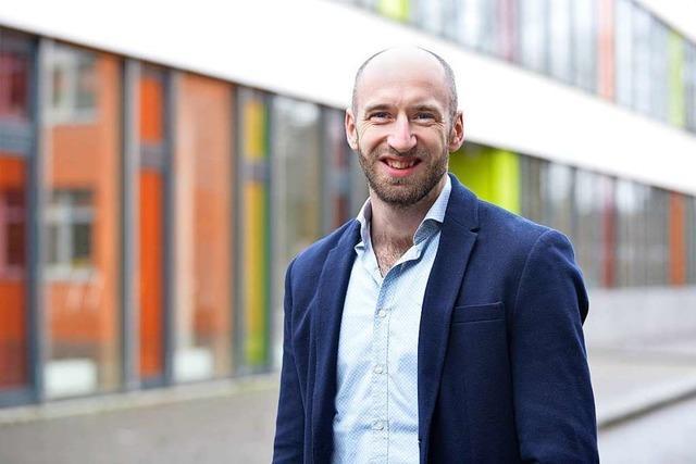 Als Rektor kümmert sich Florian Ziemann auch um die Alltagssorgen der Schüler