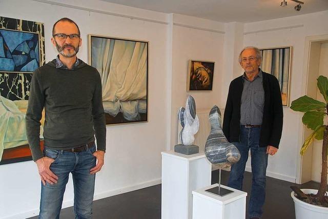 Kleine Galerie in Herbolzheim bietet Ausstellung durchs Schaufenster