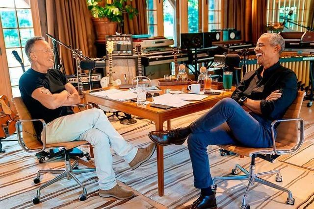 Barack Obama und Bruce Springsteen veröffentlichen gemeinsamen Podcast