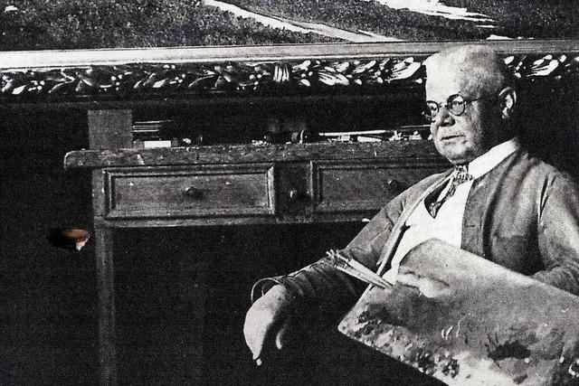 Hermann Dischler war als Schwarzwaldmaler bekannt