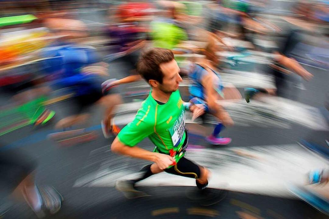 Einen Marathon laufen ist ein Erfolg, ...gen und Ausdauer, auch im Berufsleben.  | Foto: Fredrik von Erichsen