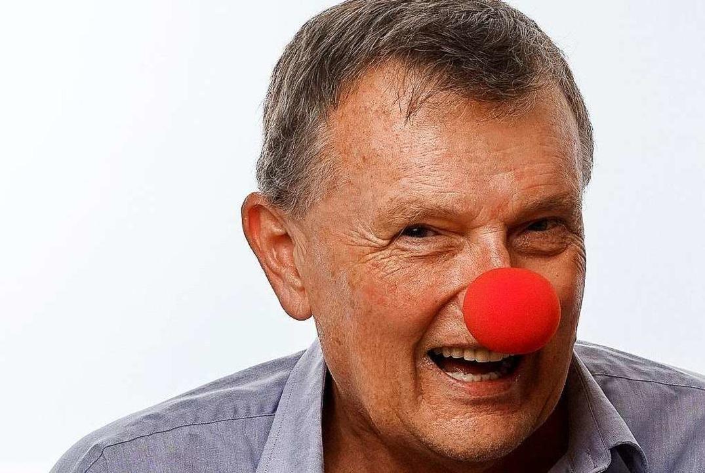 Michael Titze ist Gründer der Fachgesellschaft für therapeutischen Humor.    Foto: Tobias Bugala