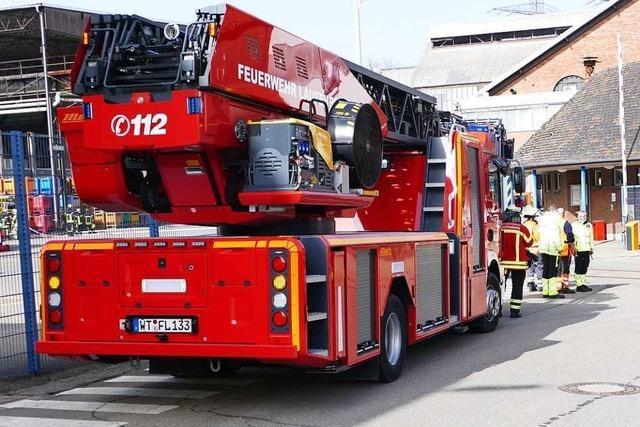 Brand im Amperit-Betrieb in Laufenburg ist schnell unter Kontrolle
