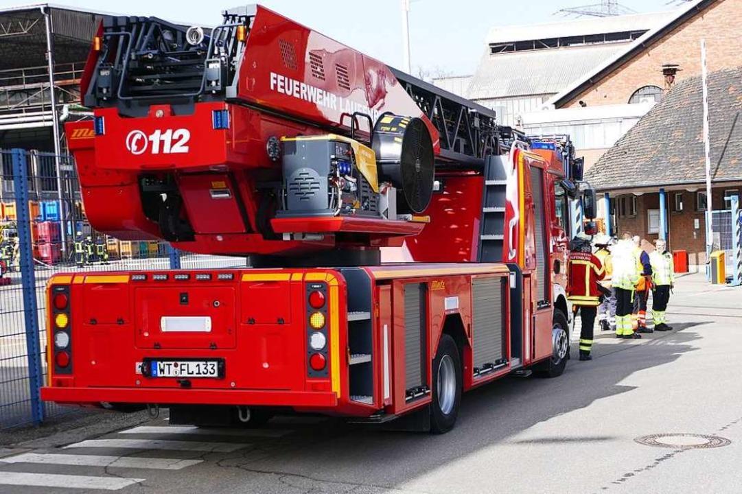Die Laufenburger Feuerwehr war am Mitt...rt, musste aber nicht mehr eingreifen.  | Foto: Martin Köpfer