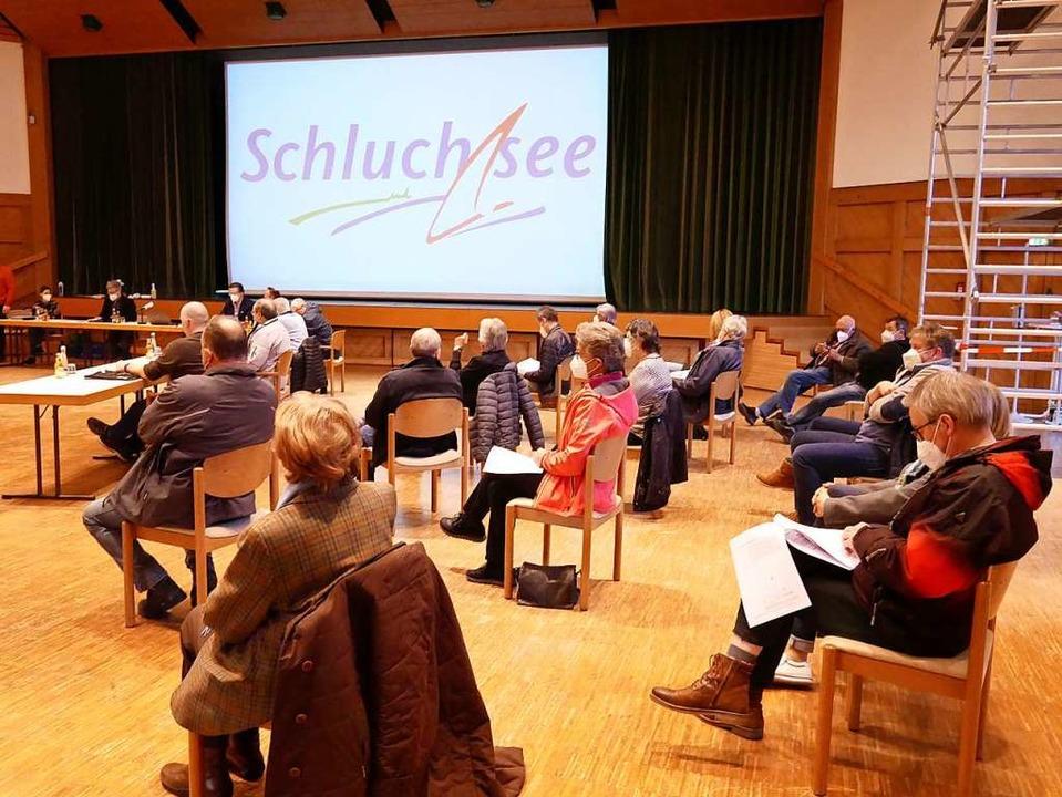 Auf großes Interesse stießen die Hotelpläne in Schluchsee.   | Foto: Eva Korinth