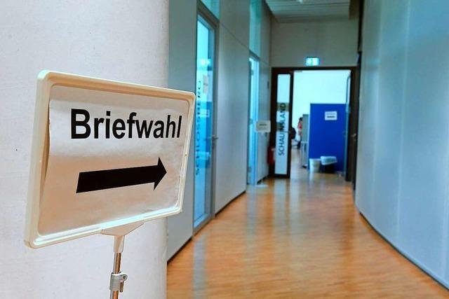 Schon jetzt gibt es in Freiburg so viele Briefwähler wie noch nie
