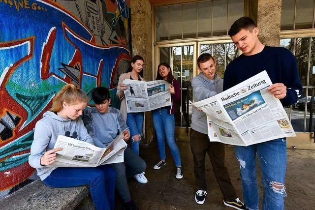 Anleitung zum Zeitunglesen