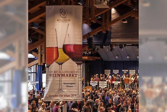 Weinmarkt fällt erneut aus