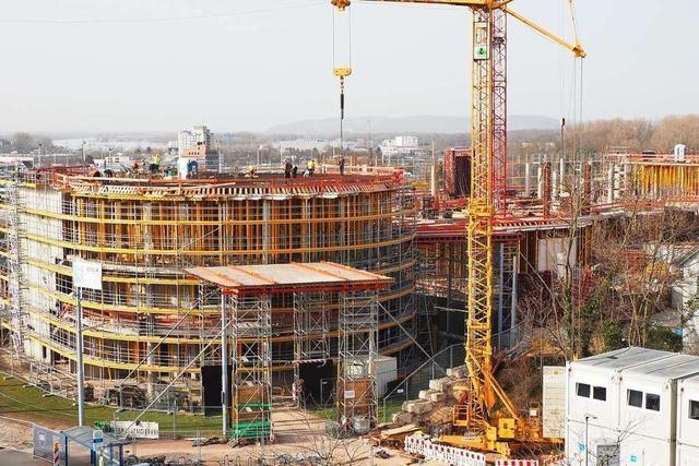Ständige Änderungen am Bau der Dreiländergalerie sorgen für Ärger in Weil am Rhein