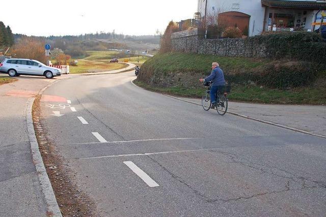 Gefahrenstelle für Radfahrer in Minseln soll beseitigt werden