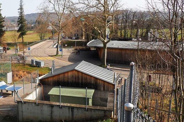Eine Baustelle in Riehen wird für Staus in Altweil sorgen