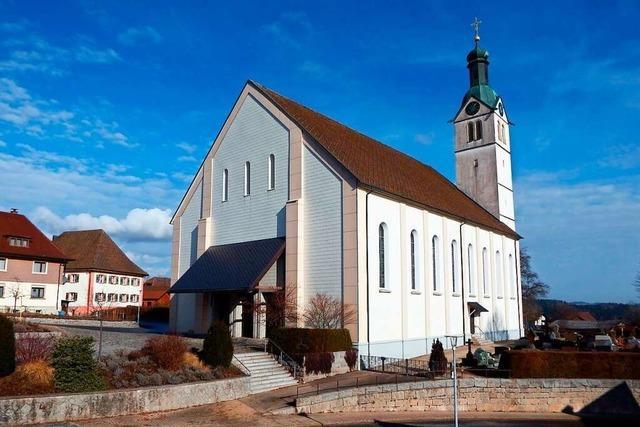 Der Görwihler Kirchturm überstand sogar Blitze und einen Vollbrand