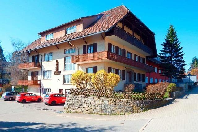 Rickenheimer Kinderheim gehört zu den markantesten Gebäuden des Waldes