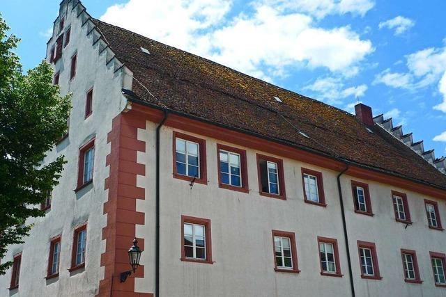 Der Staffelgiebelbau prägt das Stadtbild von Bad Säckingen