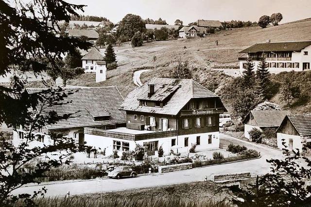 In den Sechzigern war der Höllbachhof in Hartschwand für seine Tanzabende bekannt