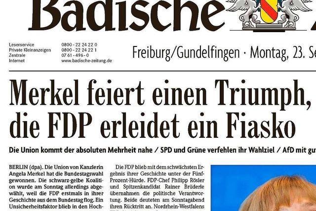 Bundestagswahl 2013:
