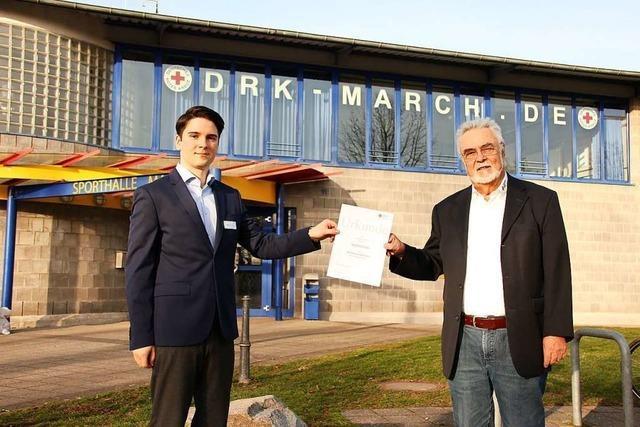 Gottfried Fleck gibt in March den Vorsitz ab – und ist nun Ehrenvorsitzender