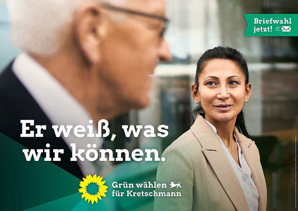 """Er muss gar nicht richtig gezei...nicht zu grün"", sagt Timo Becker  | Foto: Die Grünen Baden-Württemberg"