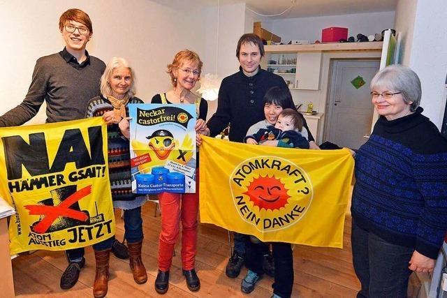 Die Anti-Atom-Gruppe kämpft aktiv gegen die Gefahr und die Angst