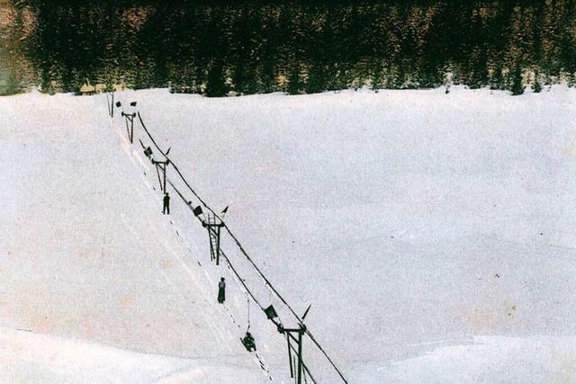 Wie der Schollbacher Robert Winterhalder den Skilift erfand