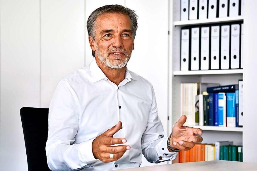 Michael Broglin, Geschäftsführer Abfal...und  Beschäftigungs-GmbH: 260.000 Euro  | Foto: Thomas Kunz